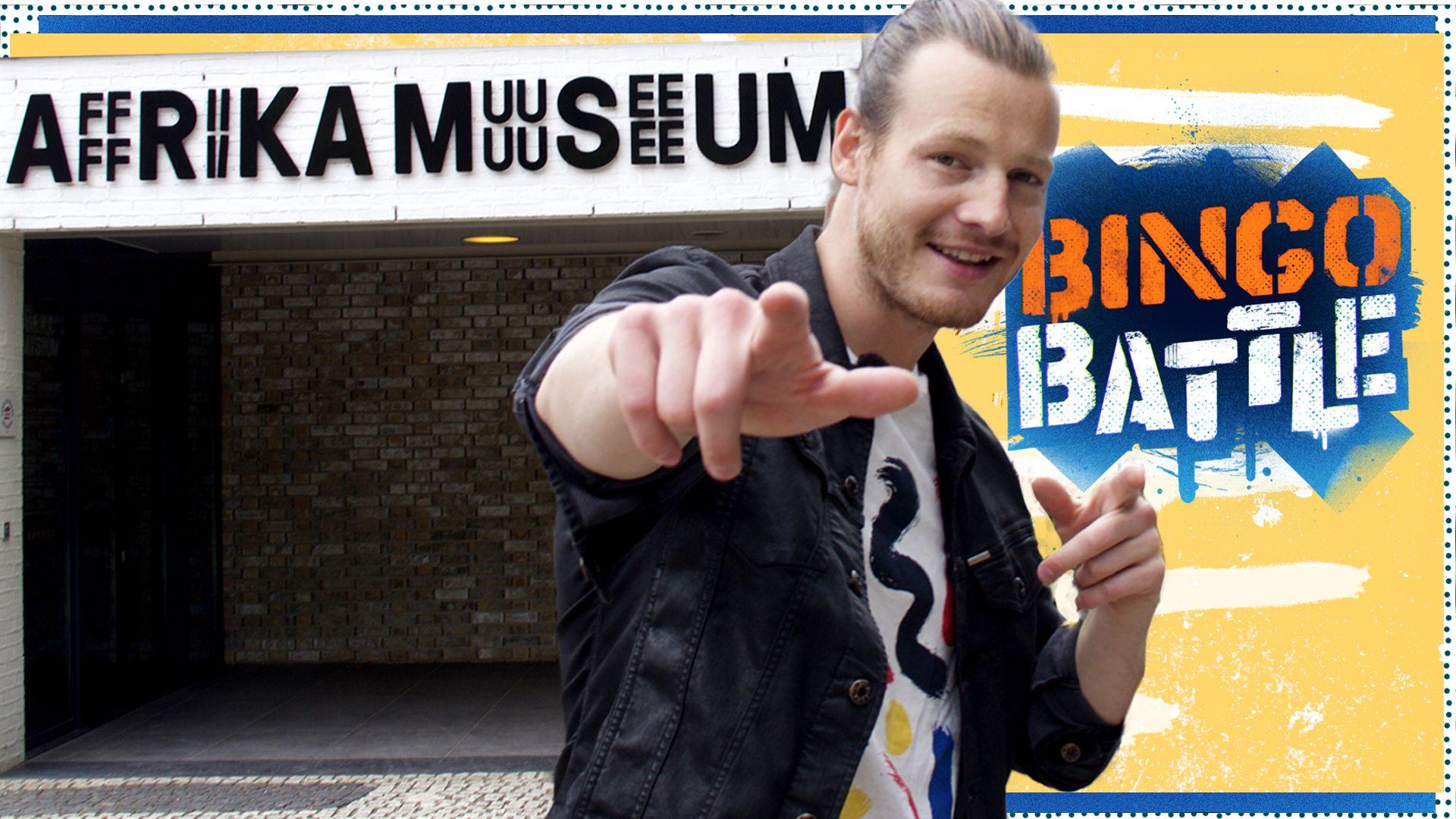 guido spek, afrika museum, gtst, museumtv, cjp, bingo battle